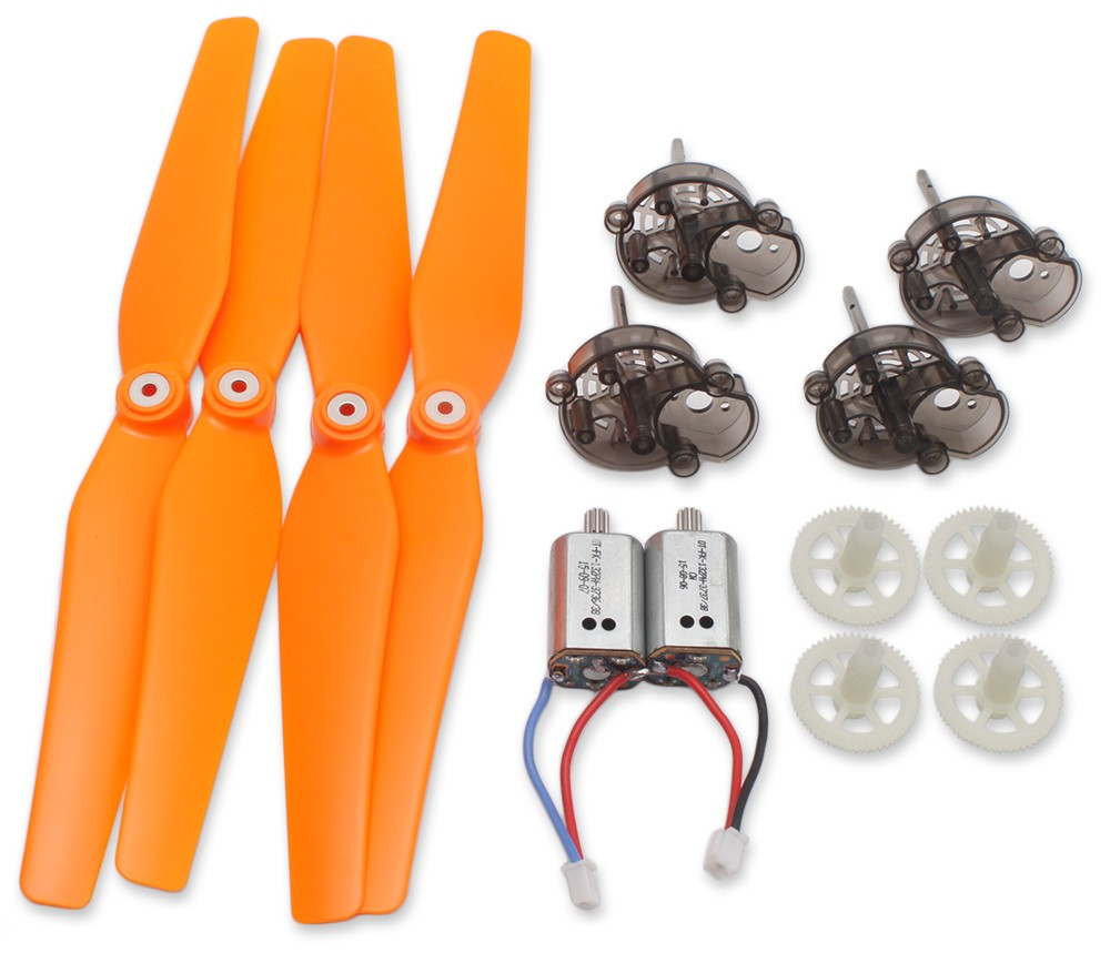 Propeller + Gear + Motor + Motor Base Set Accessory for Syma X8C Quadcopter