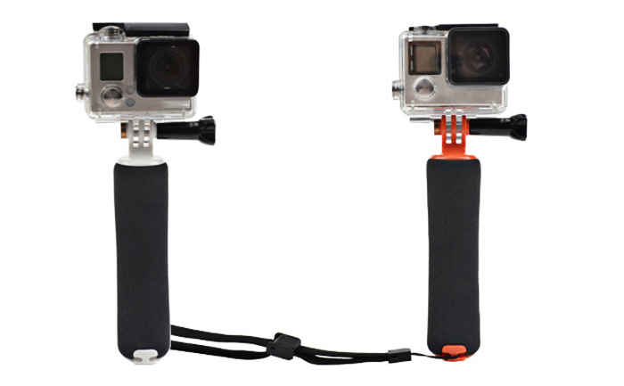 CP-GP213 Multifunctional Floating Handle Mount Floaty Hand Grip Accessory for Action Cameras