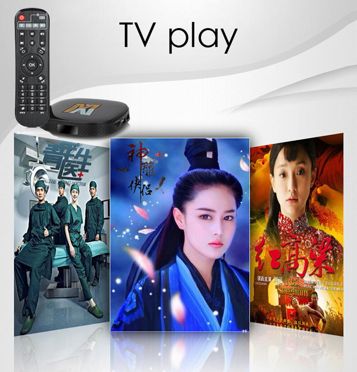 MNBOX Chinese TV Box Amlogic S805 Quad-core Android 4.4 2.4GHz WiFi 512MB 8GB Smart Media Player