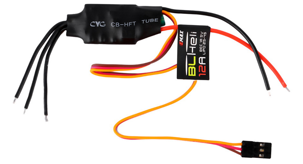 EMAX BLHeli 12A ESC FPV QAV250 / 200 / 280 / 300 Quadcopter Accessory 4Pcs / Set