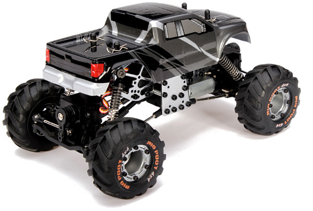 HBX 2098B 1 / 24 4 Wheel Drive Remote Control Car 2.4G Metal Structure