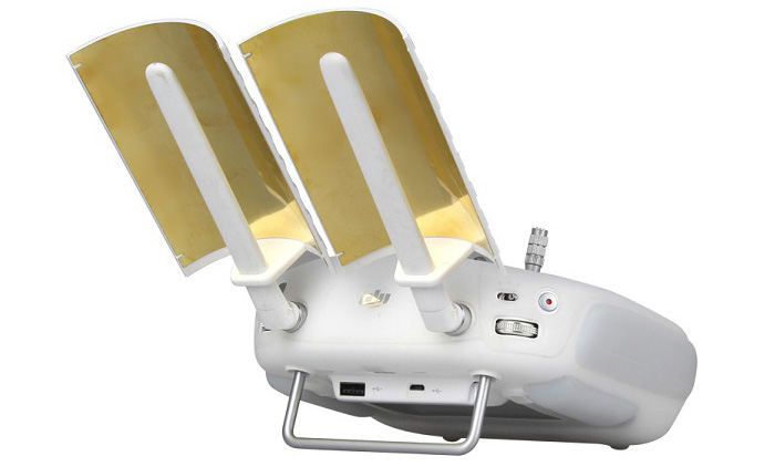 Parabolic Antenna Range Booster for DJI Phantom 3 Transmitter Signal Extender 2Pcs / Set