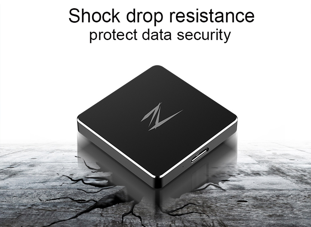 Netac Z2 USB 3.0 SSD Super Speed Mini Portable Solid State Drive Replacement External Hard Drive