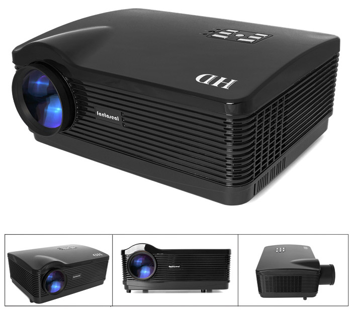 Fantaseal LP-HD1 LCD Projector 2800LM 1280 x 800 Pixels Home Theater