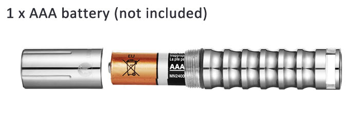 LUMINTOP Worm Updated Version Cree XP - G2 R5 110LM AAA LED Flashlight