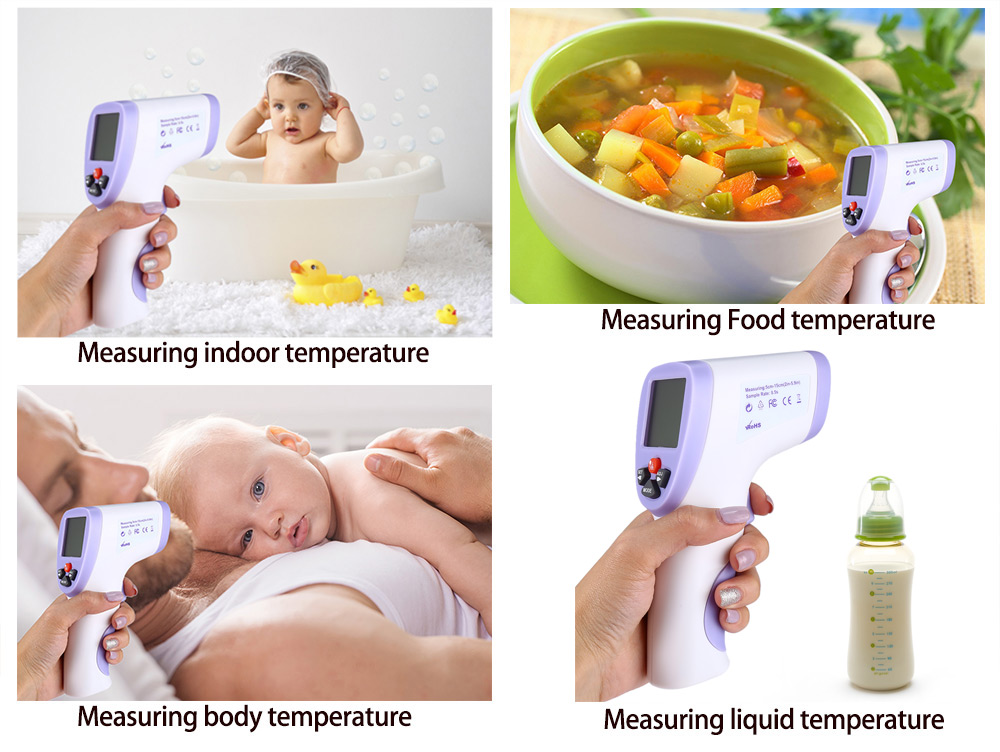 820D Non - contact Body Infrared Thermometer Digital LED Temperature Measurement Device
