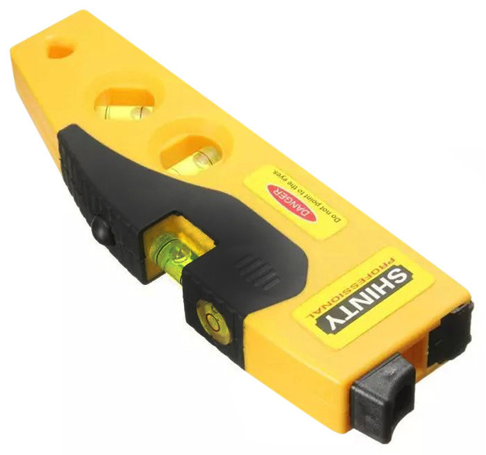 TD9B Cross Line Spirit Level with Tripod Measuring Tool