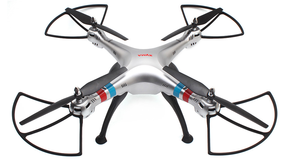 SYMA X8G 2.4G 4CH 6 Axis Gyro RC Quadcopter 360 Degree Rollover - BNF Version