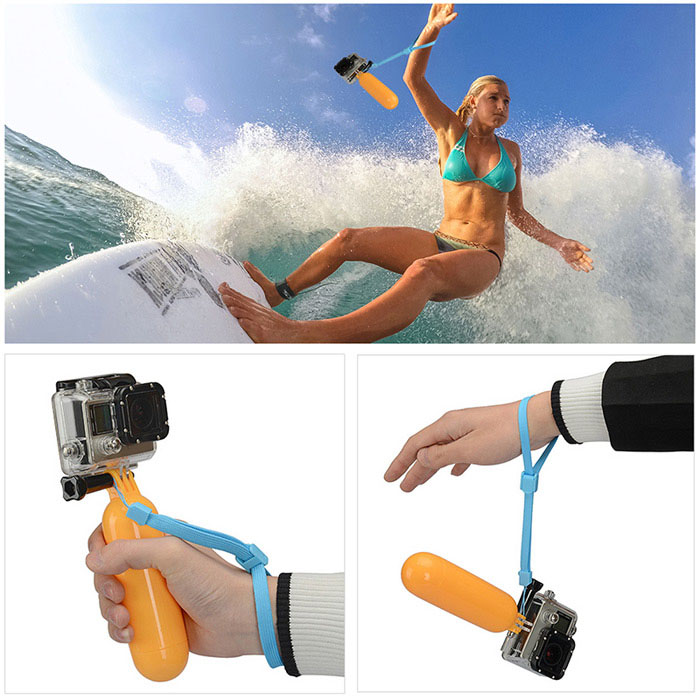 KingMa KIT5007 Universal Action Camera Accessory Skiing Diving Mask Goggles Scuba Glasses Floating Grip