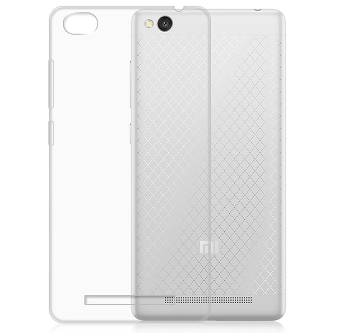 ASLING Protective Back Case for Xiaomi Redmi 3 Ultra-thin TPU Material