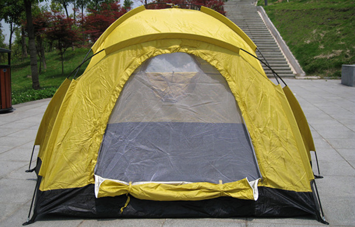 AOTU Three Person Single-layer Traveling Tent with Anti-mosquito Mesh