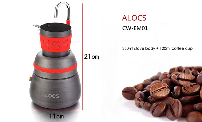 ALOCS Outdoor Coffee Stove Strong Thermal Conductivity