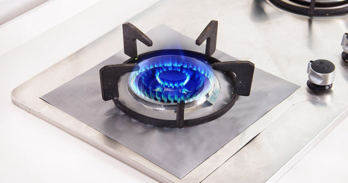 4PCS Reusable Gas Hob Protector Multi-functional Anti-dust Stove Protecting Plate
