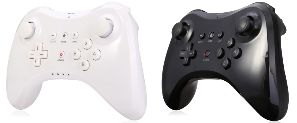 Wireless Bluetooth Gaming Gamepad Pro Controller for Wii U Dual Simulation
