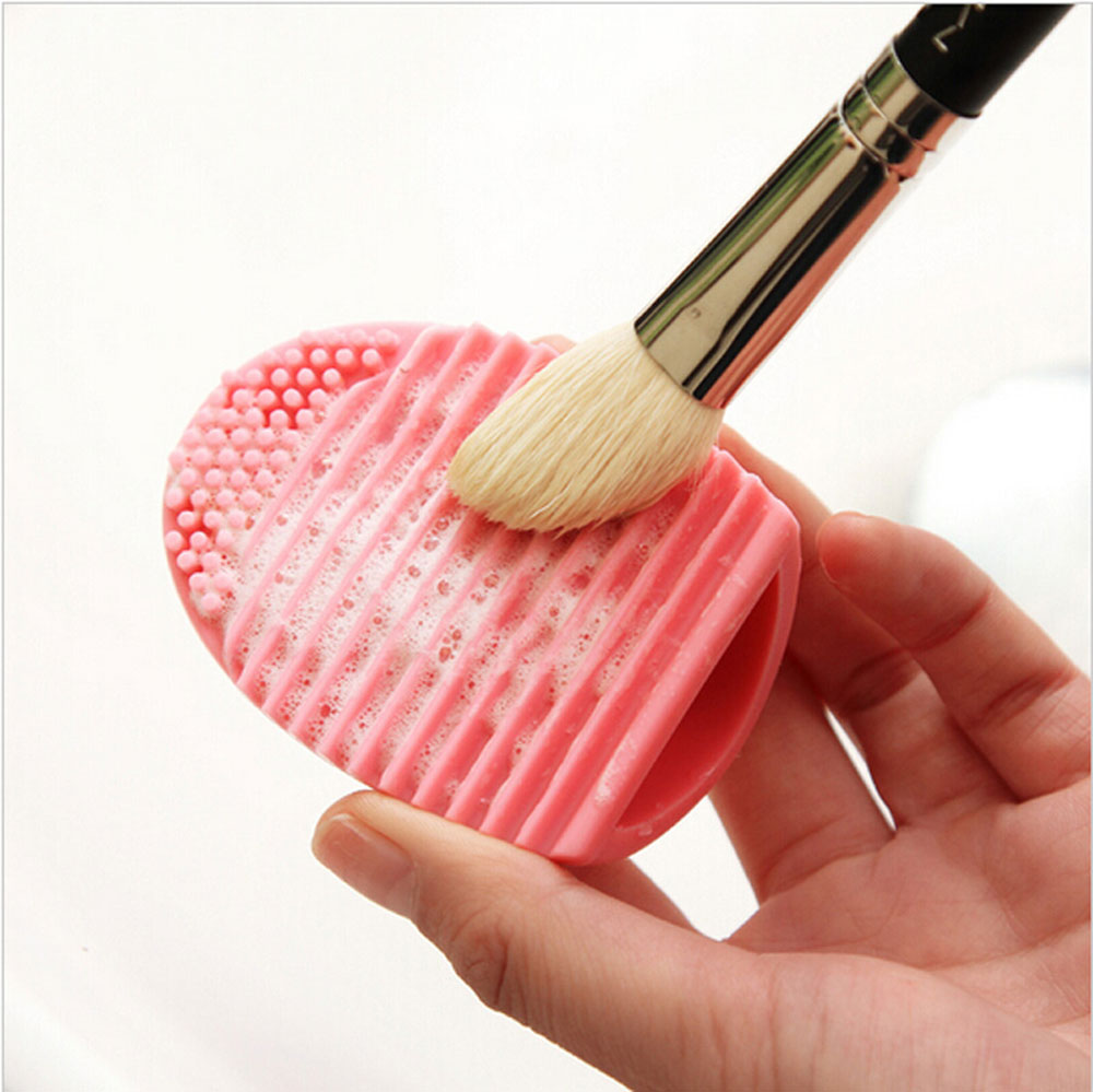 Makeup Brush Cleaner Finger Silicone Glove Cosmetic Cleaning Tool