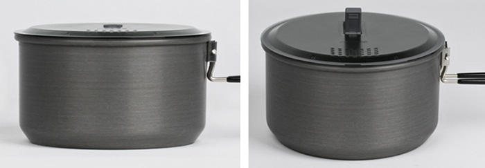 ALOCS CW-S14 2L Camping Pot 2-3 Person for Outdoor Picnic