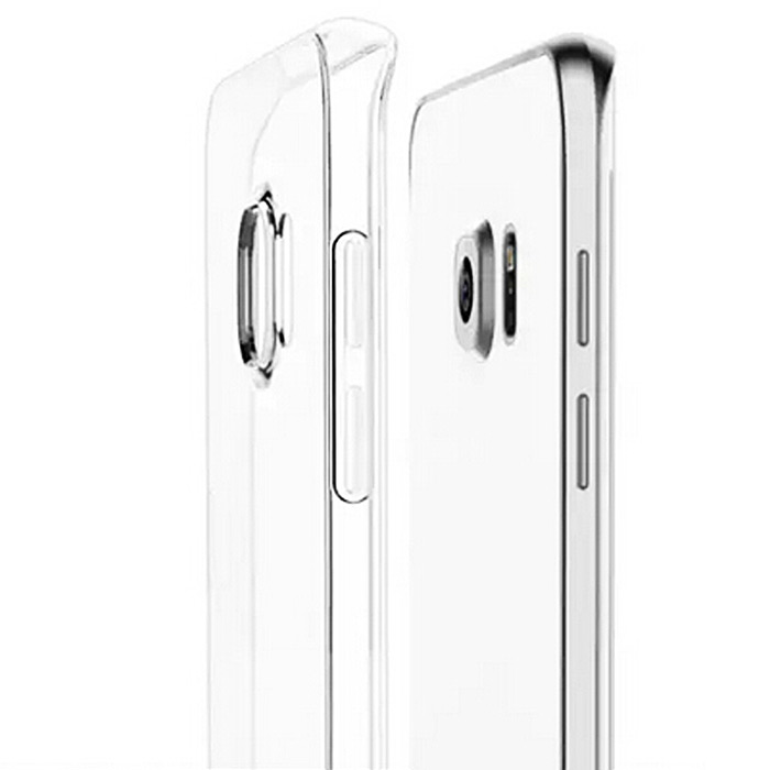 ASLING Protective Back Case for Samsung Galaxy S6 Edge Ultra-thin TPU Material