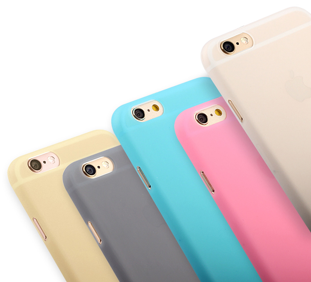 Protective Case for iPhone 6 Plus / 6S Plus Matte Surface PC Material