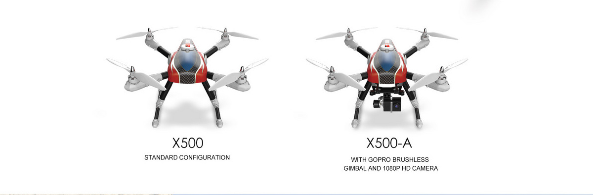 XK X500 Headless Mode 2.4GHz Remote Control Quadcopter RTF with GPS Tracking