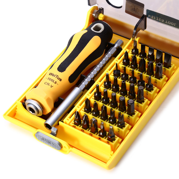 Weitus 37 in 1 Screwdriver Set Disassembled Tool