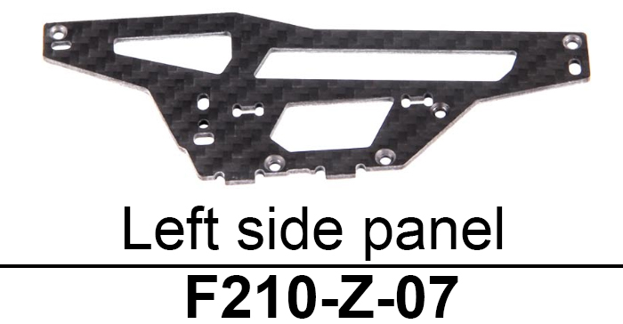 Left-side Plate Accessory for Walkera F210 RC Drone