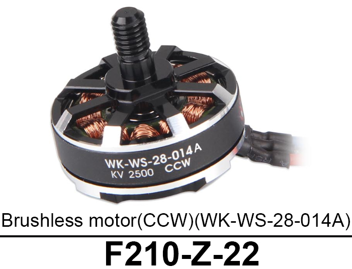 2500KV CCW Brushless Motor Accessory for Walkera F210 RC Drone