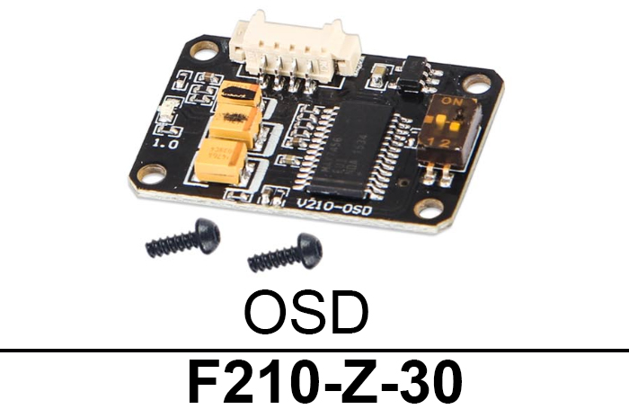OSD Module Accessory for Walkera F210 RC Drone