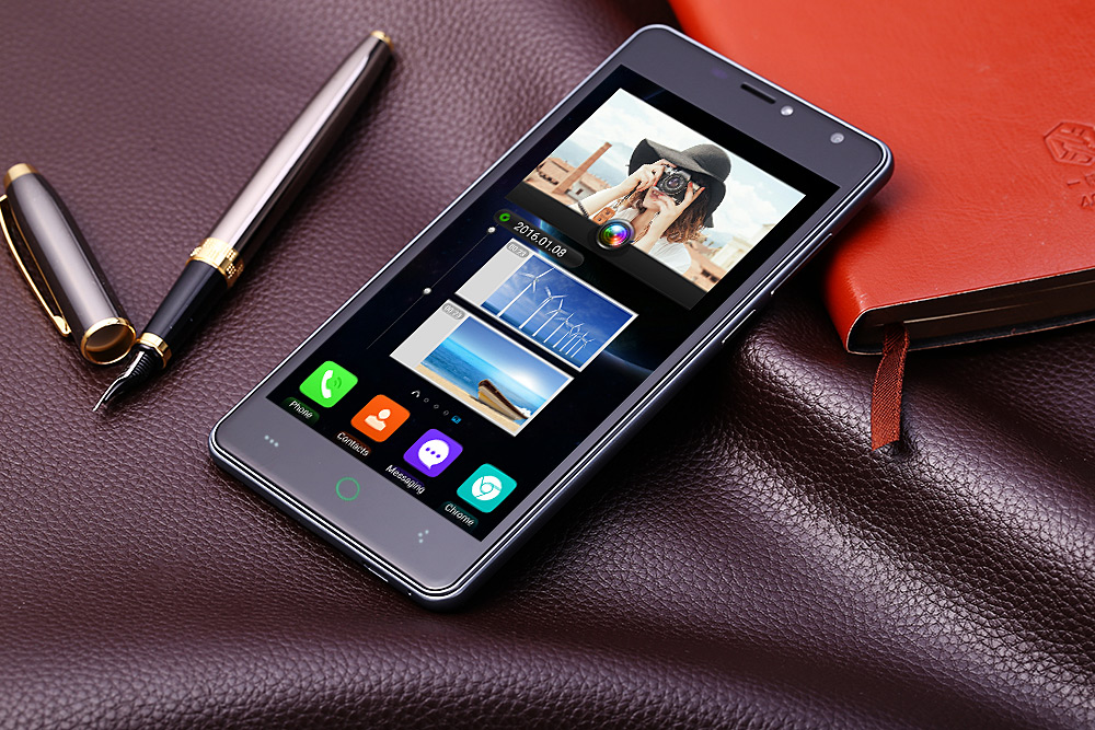 Leagoo Alfa 2 5.0 inch 3G Smartphone Android 5.1 MTK6580 Quad Core 1.3GHz 2.5D Screen 1GB RAM 16GB ROM 13.0MP Main Camera Back Touch Function OTG