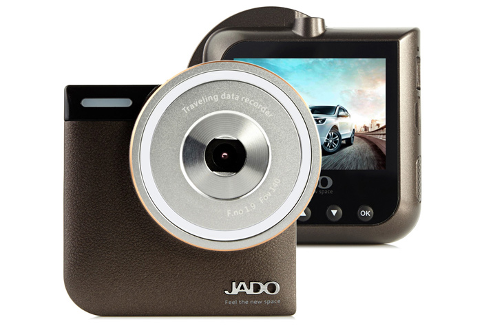 JADO D760 1080P Full HD 140 Degree Wide Angle 5MP Car DVR Recorder Camera with 2.4 inch LCD Screen G-Sensor Motion Detection Loop Cycle Recording