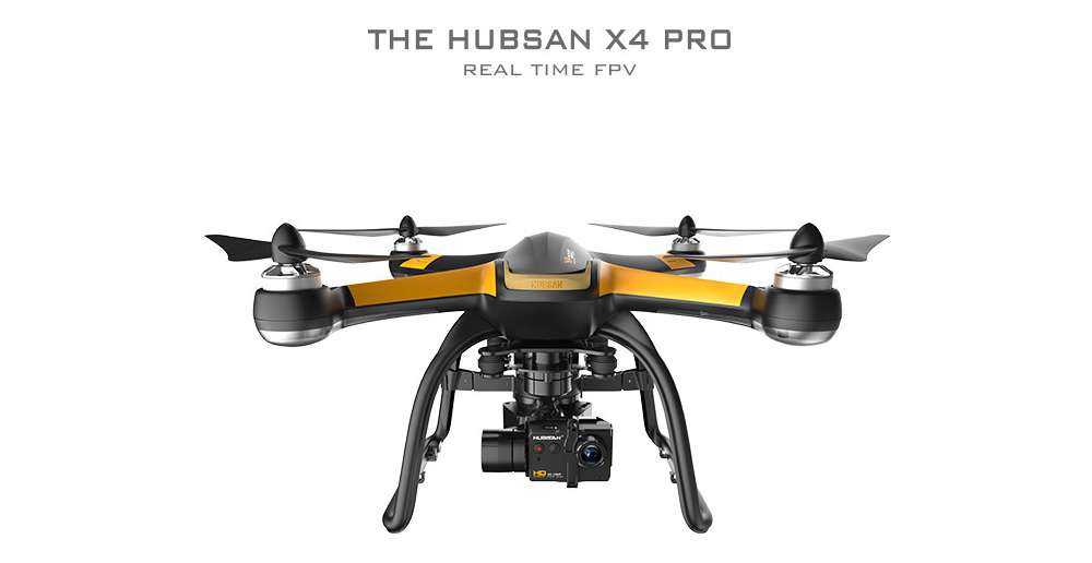 Hubsan H109S X4 PRO 5.8G FPV 1080P HD Camera GPS 7CH RC Quadcopter with 3-axis Brushless Gimbal