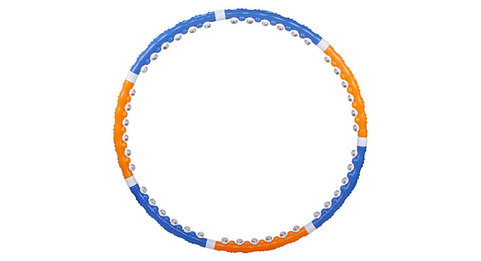 Detachable Massage Hula Hoop 7 Segments Wave Shaped Connecting Design