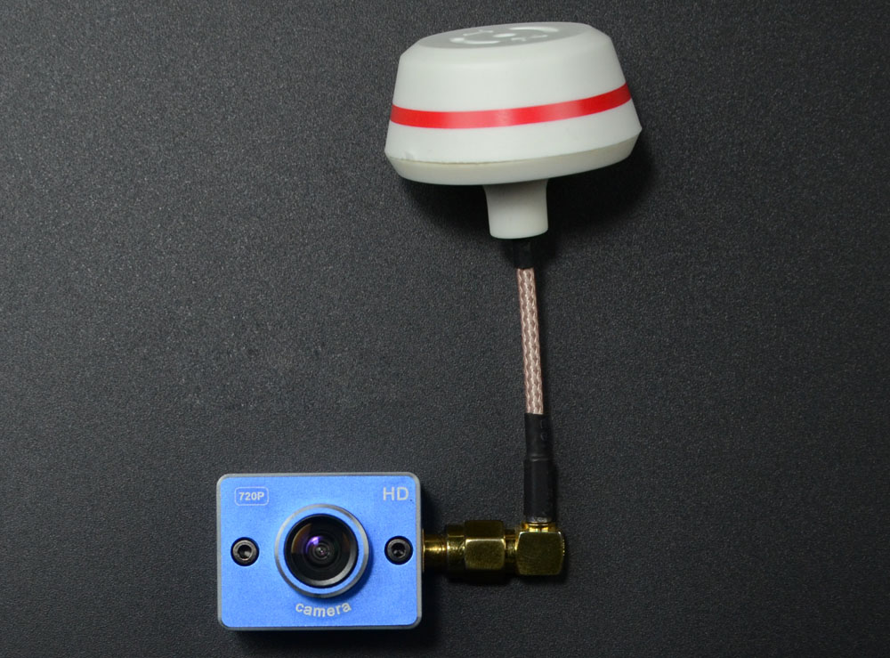 FC MODEL TUZ 720p 5.8G 32CH 600mW Image Transmitter + 720P Camera One Machine for Multicopter FPV