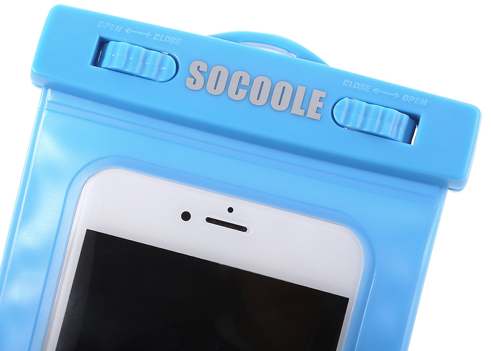 SOCOOLE Universal Regular Waterproof Bag Touch Screen Function