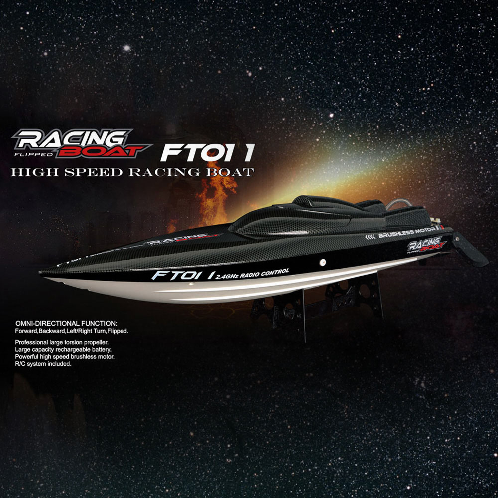 FeiLun FT011 2.4G RC Boat High Speed Brushless Motor Built-in Water Cooling System