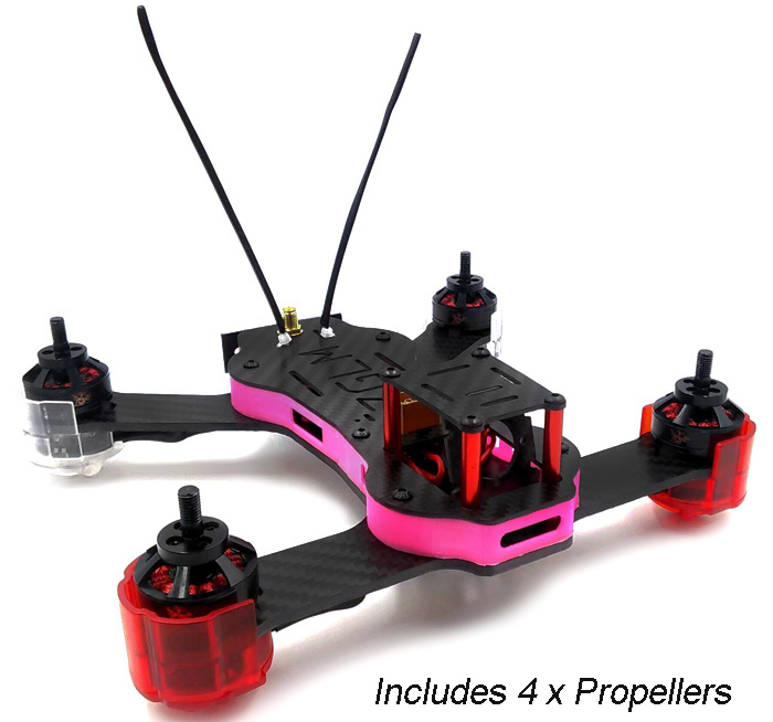 REDCON Phoenix 210 DIY Quadcopter with 976 x 582 CAM 5.8G FPV Almost-ready-to-fly Version