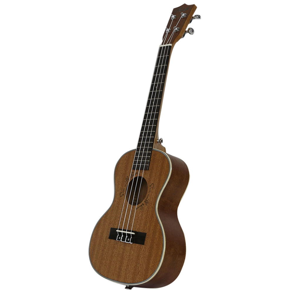 Kasch MUH - 509 26 inch 4 String Sapelli Ukulele Instrument with Bag
