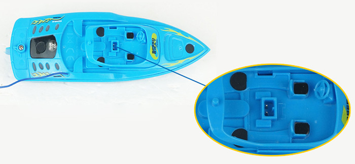 CREATE TOYS 3392B Yacht Mini 4CH Remote Control Toy for Kids 2Pcs / Set