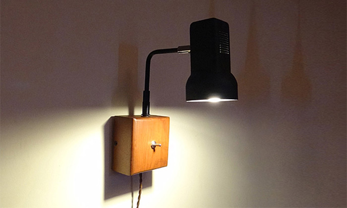 Retro Swing Arm LED Wall Lamp Bedside Reading Light WIRE-USD 35.92 Online Shopping GearBest.com