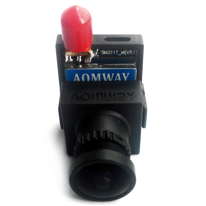 AOMWAY 5.8G 8CH 200mW AV Transmitter Integrated 700TVL CMOS HD Camera One Machine for Aerial Photo