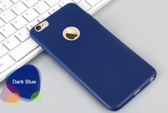 ASLING Ultra-thin Protective Back Case for iPhone 6 / 6S Soft Material Solid Color