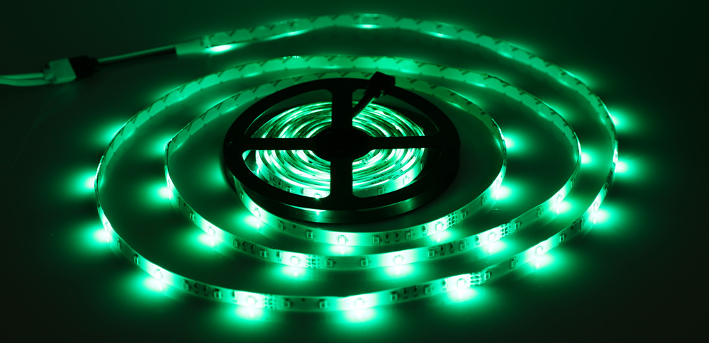 5 Meters 12V 300 LEDs RGB Light LED Strip Lamp 3528 SMD Waterproof Superlight with 24 Key Remote Controller