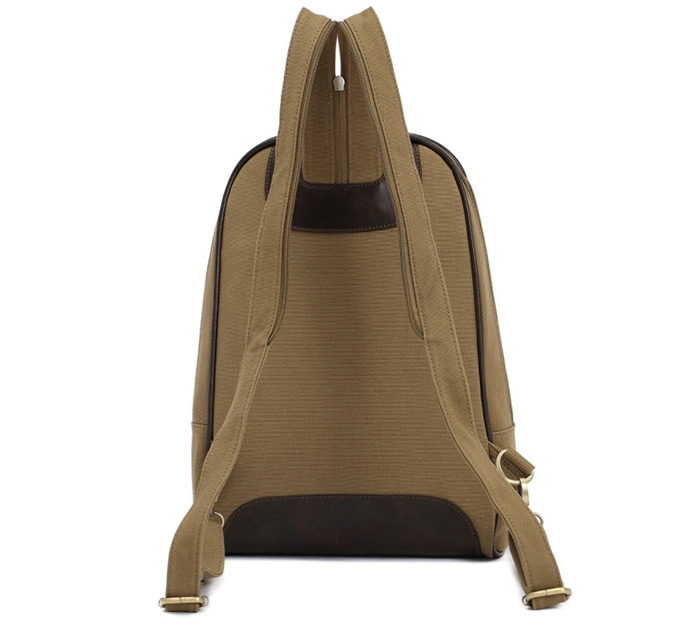 KAUKKO YP11 9L Women Canvas Preppy Style Backpack