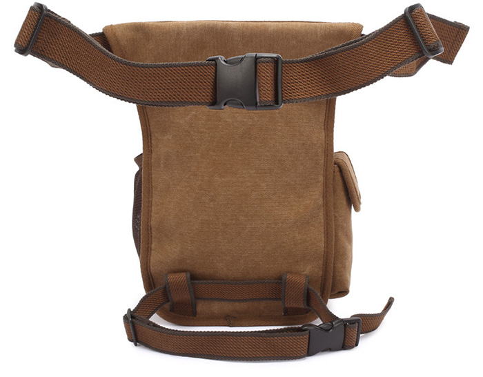KAUKKO FH07 5L Canvas Waist Leg Bag for Men