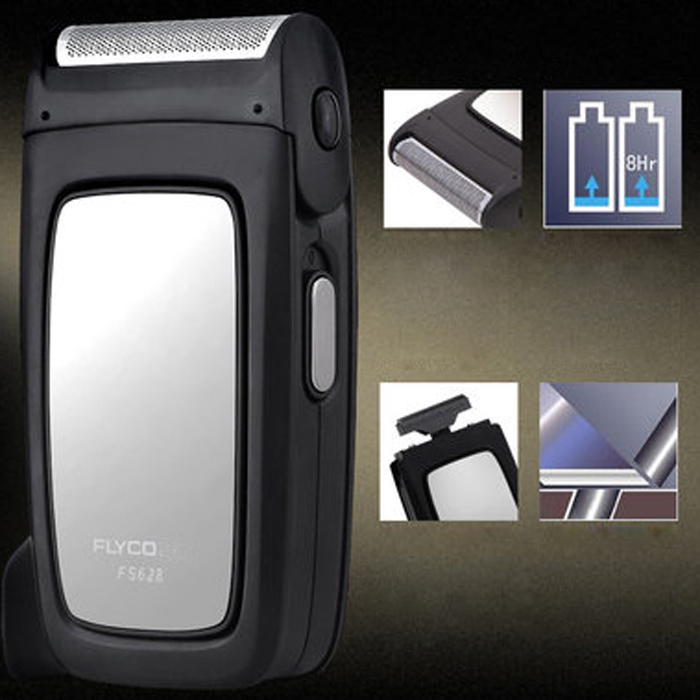 FLYCO FS628 Small Rechargeable Electric Shaver Cordless Reciprocating Razor