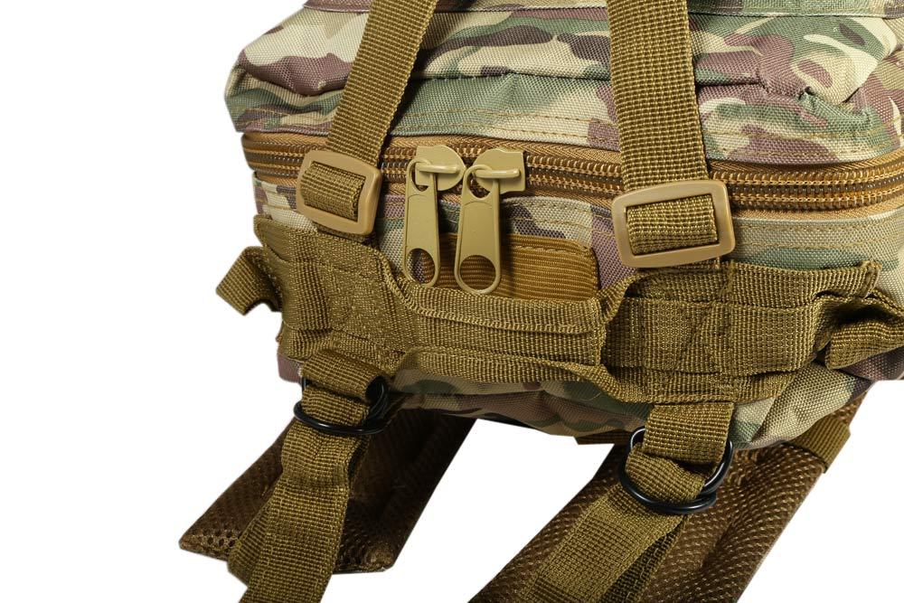 30L 25kg Load Bearing Multi-purpose Big Size CP Dual Shoulder Military Outdoor Tactical Backpack