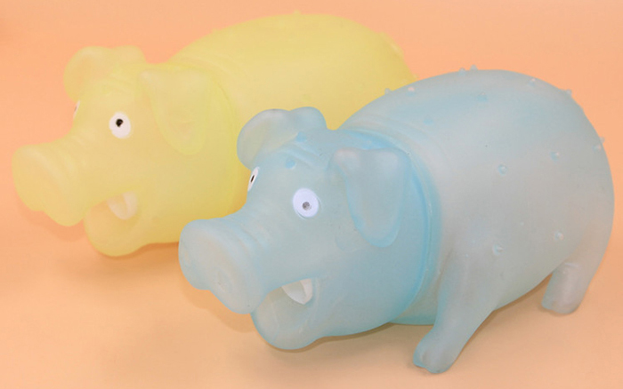 G706 Shining Pig Screech Cute Vent Toy for Office Worker