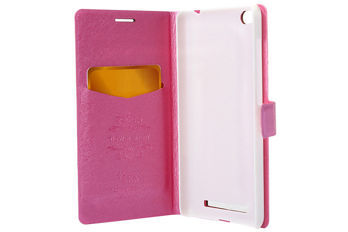 ASLING PU Leather Flip-Oper Style Full Body Protective Case for Xiaomi Redmi 3 with Credit Card Slot Phone Stand Holder