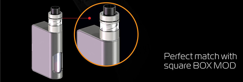 Original Steam Crave Aromamizer V-RDA with 2 Posts / Adjustable Cyclone Airflow Rebuildable Dripping Atomizer for E Cigarette