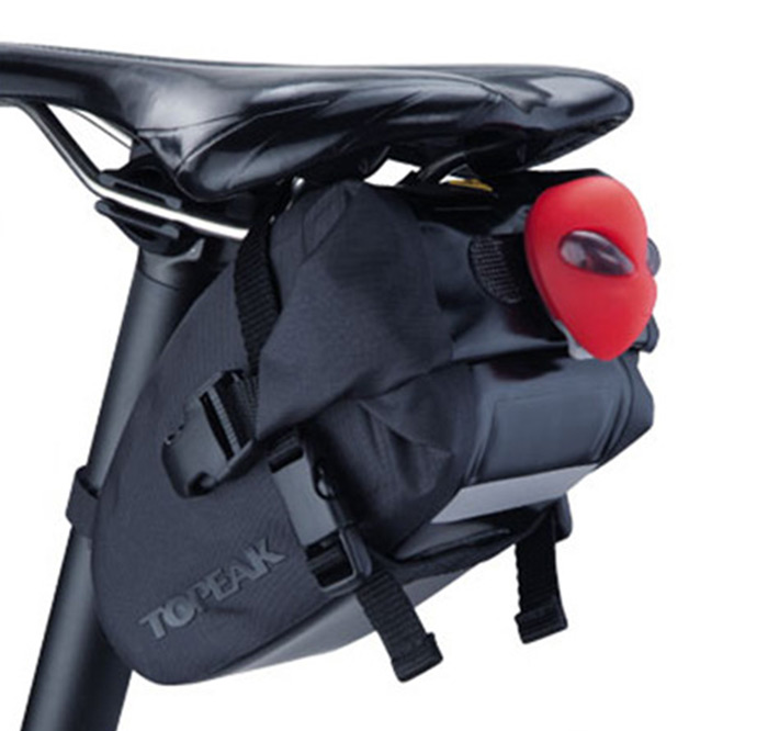 TOPEAK Bicycle Saddle Bag with Ultrasound Welded Seam