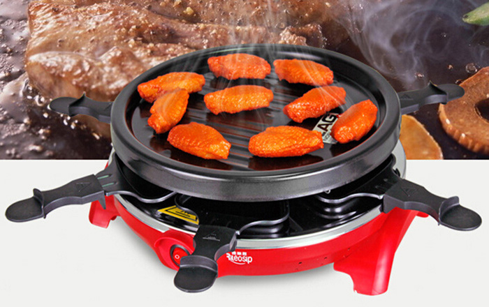JJ16018 Electric Smokeless Roasting Oven Household Products